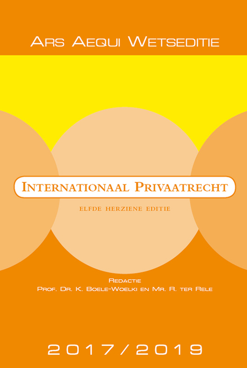 Afbeelding van Internationaal privaatrecht 2017/2019