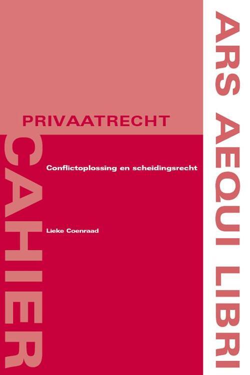 Afbeelding van Conflictoplossing en scheidingsrecht