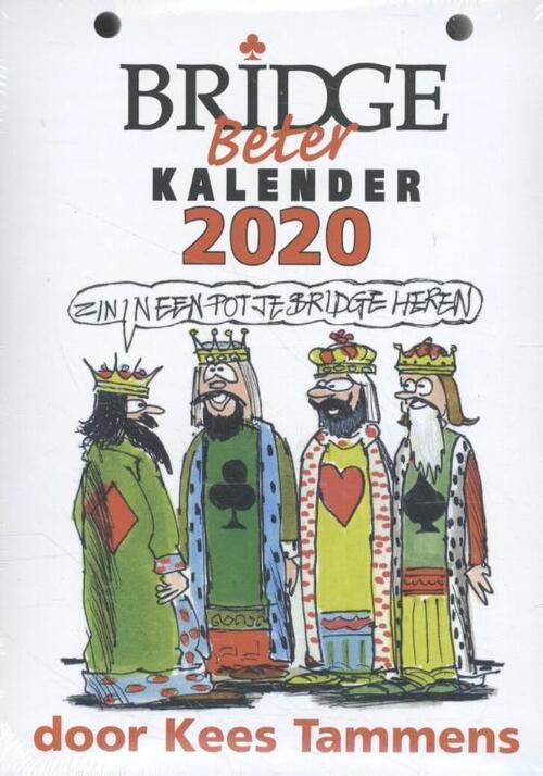 Afbeelding van Bridge Beter kalender 2020