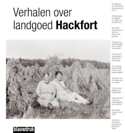 Afbeelding van Verhalen van landgoed Hackfort