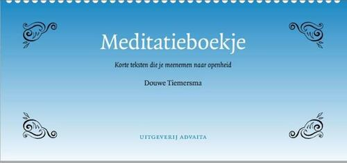 Afbeelding van Meditatieboekje