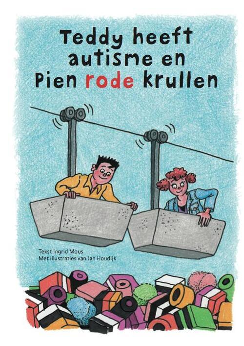 Afbeelding van Teddy heeft autisme en pien rode krullen