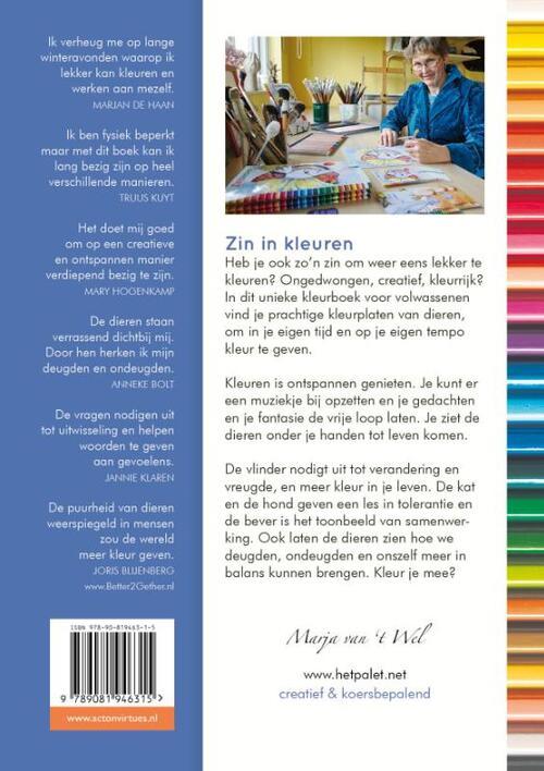 Kleurplaten Voor Volwassenen Handen.Zin In Kleuren 1 Het Mooiste Kleurboek Voor Volwassenen Met