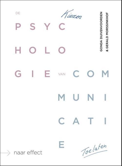 Afbeelding van De psychologie van communicatie
