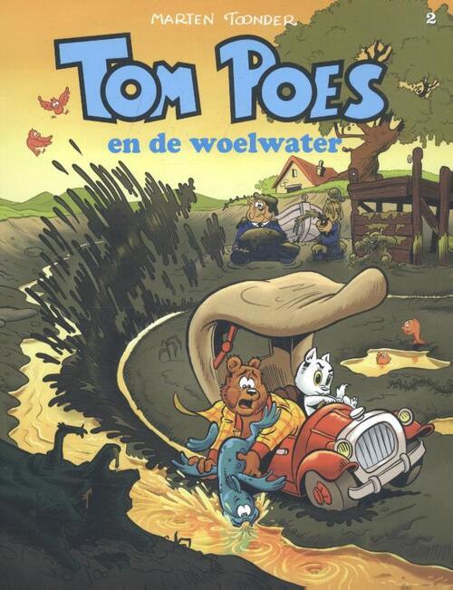 Tom Poes en de woelwater kopen