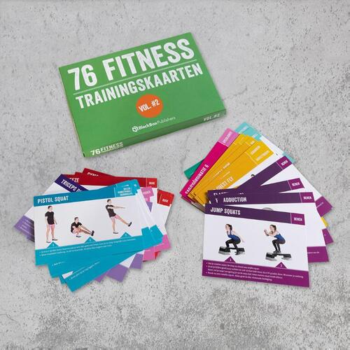Afbeelding van Fitness trainingskaarten - Volume 2