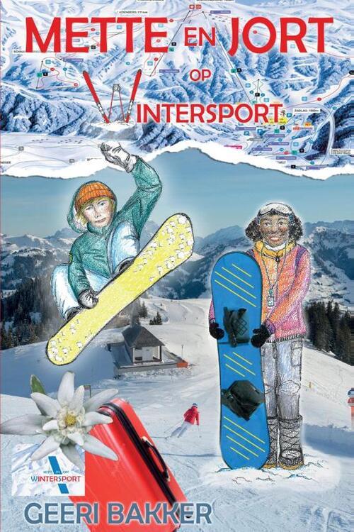 Afbeelding van Mette en Jort op wintersport