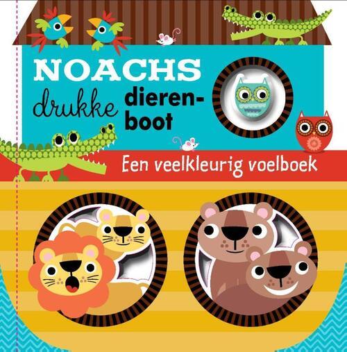 Afbeelding van Noachs drukke dierenboot