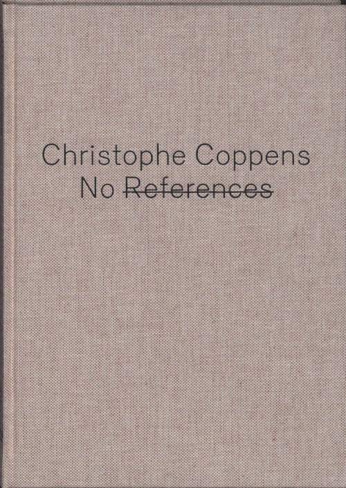 Afbeelding van NO REFERENCES : Christophe Coppens