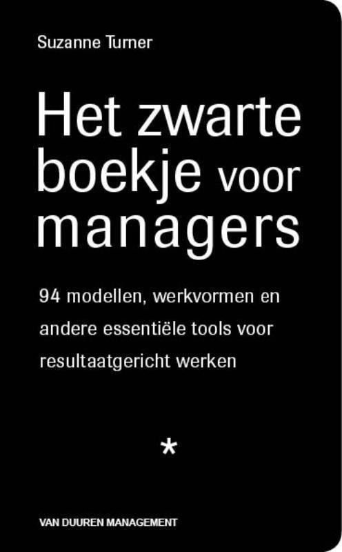 Het zwarte boekje voor managers - Suzanne Turner