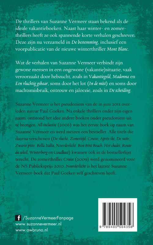 Vlucht dutch suzanne vermeer ebook download gallery ebooks german de bestemming suzanne vermeer 9789400504356 boek bookspot achterkant boek gazduireweb gallery fandeluxe Image collections