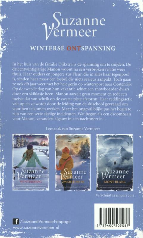 Aprs ski suzanne vermeer 9789400505087 boek bookspot achterkant boek fandeluxe Gallery