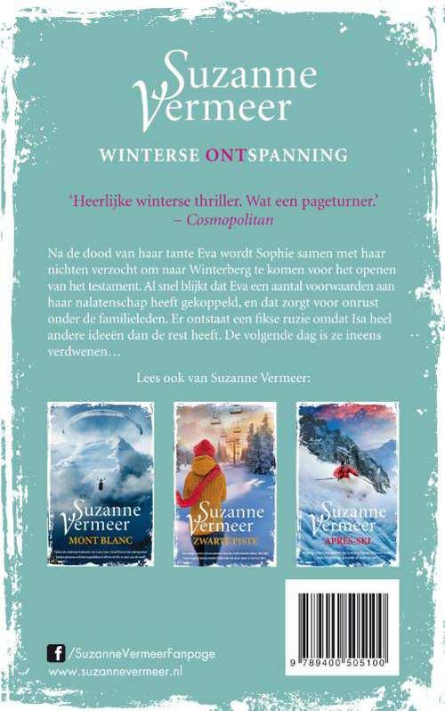 Winterberg suzanne vermeer 9789400505100 boek bookspot achterkant boek fandeluxe Gallery