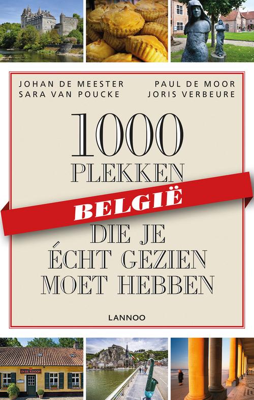 Afbeelding van 1000 plekken die je écht gezien moet hebben - België