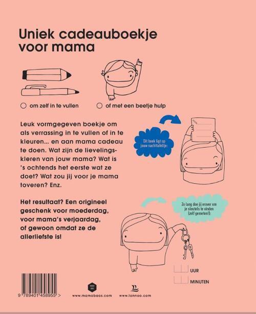 Verwonderend Voor mijn liefste mama, Mama Baas | 9789401458955 | Boek - bookspot.nl GG-45