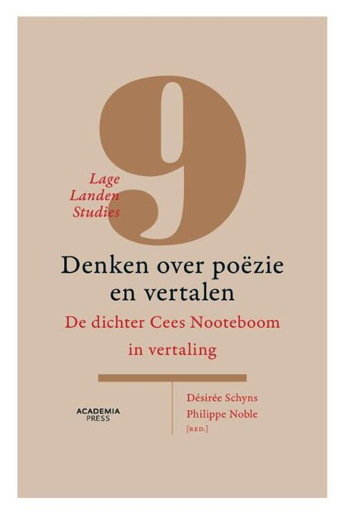 Afbeelding van Lage Landen Studies 9: Denken over poëzie en vertaling (POD)