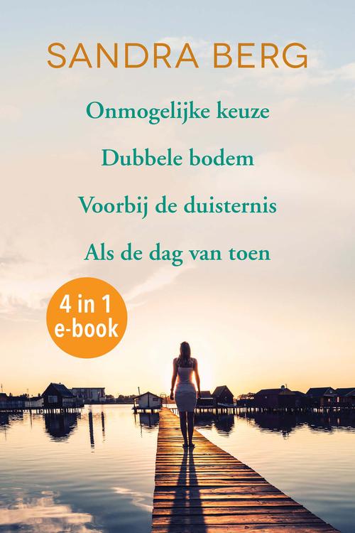 Sandra Berg e-bundel (4 eBooks)