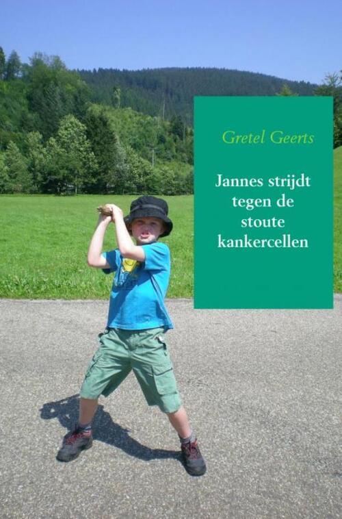Jannes strijdt tegen de stoute kankercellen