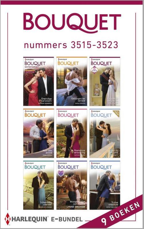 Bouquet e-bundel nummers 3515-3523 (9-in-1)