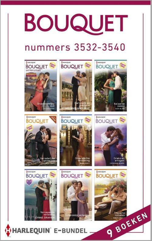 Bouquet e-bundel nummers 3532-3540 (9-in-1)