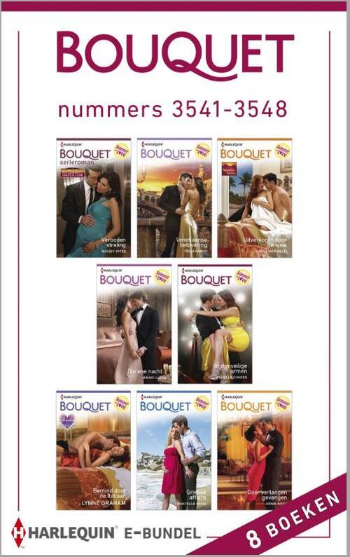 Bouquet e-bundel nummers 3541-3548 (8-in-1)