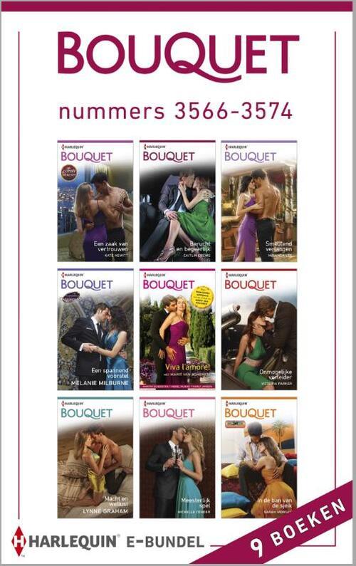 Bouquet e-bundel nummers 3566-3574 (9-in-1)