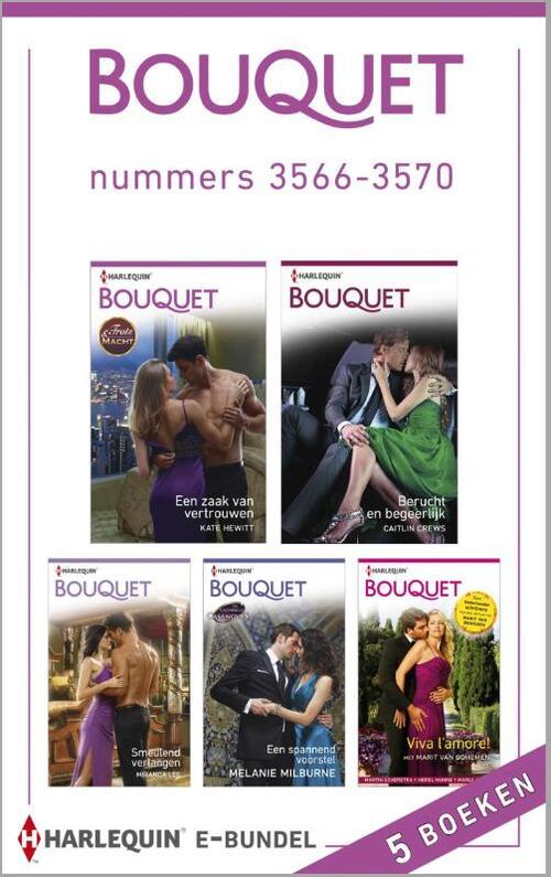 Bouquet e-bundel nummers 3566-3570 (5-in-1)