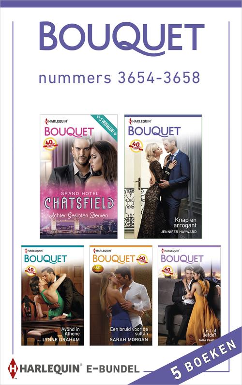 Bouquet e-bundel nummers 3654-3658 (5-in-1)