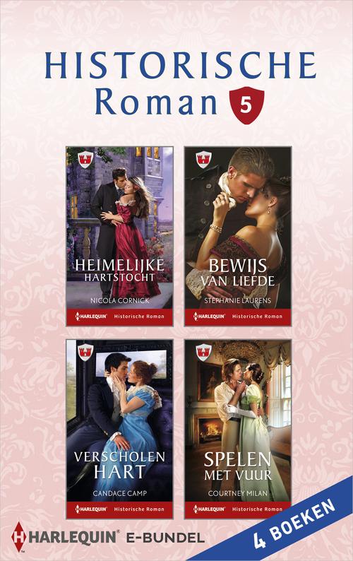 Historische roman e-bundel 5 (4-in-1)