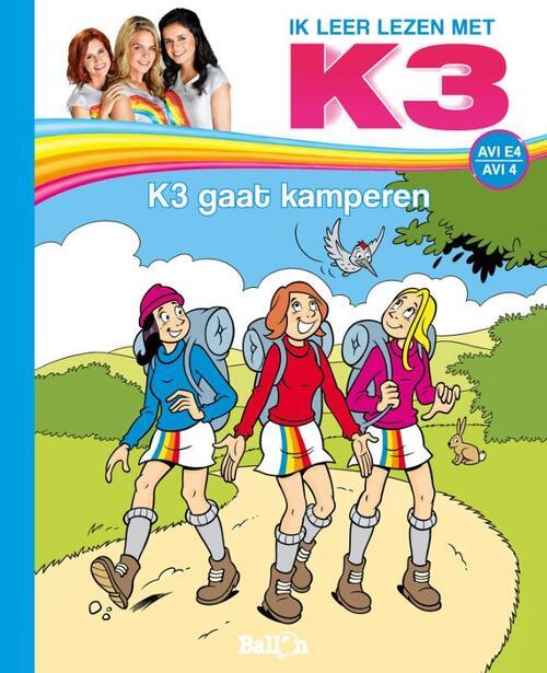 Afbeelding van K3 AVI De kampeertrip van K3