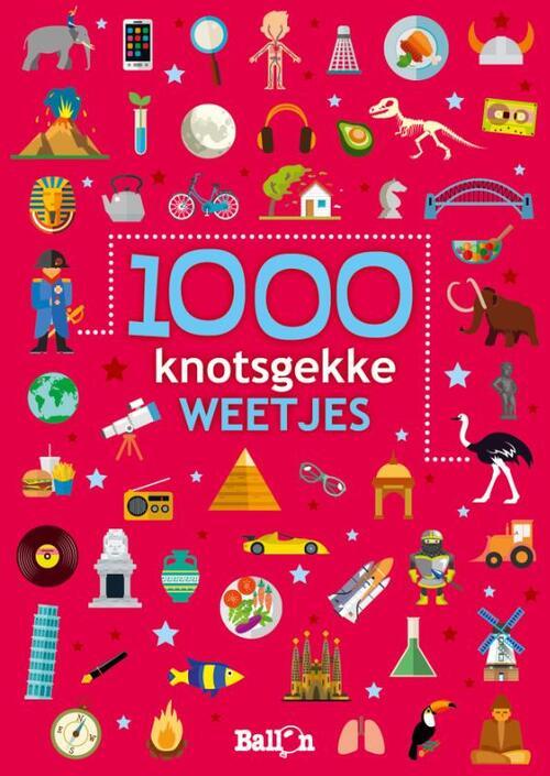 Afbeelding van 1000 Knotsgekke Weetjes