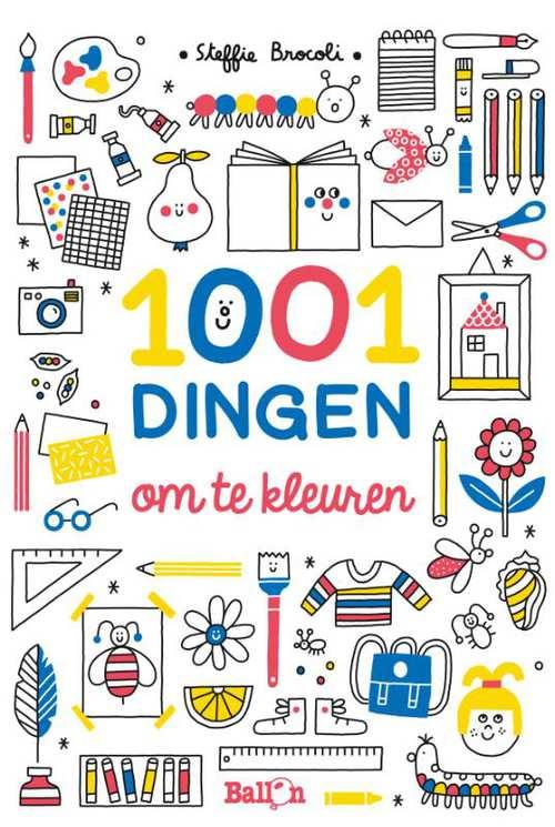 Afbeelding van 1001 Dingen Om Te Kleuren
