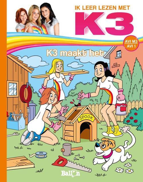 Afbeelding van K3 maakt het (AVI M3)