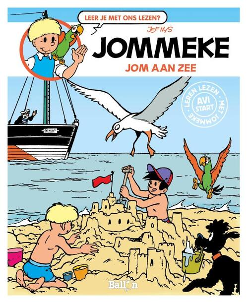 Afbeelding van Jom aan zee (AVI Start)