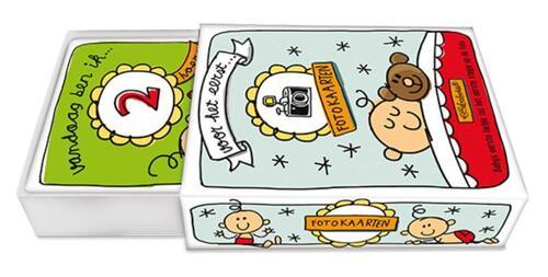 Afbeelding van Fotokaarten in Schuifdoos - Babette