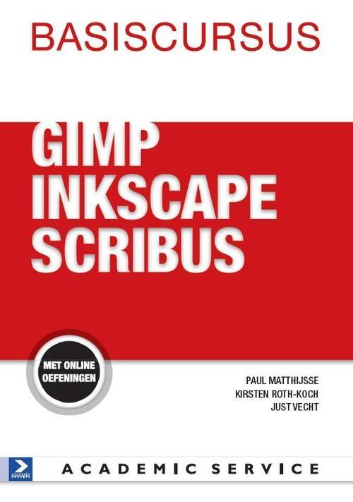 Afbeelding van Basiscursus GIMP,Inkscape en Scribus