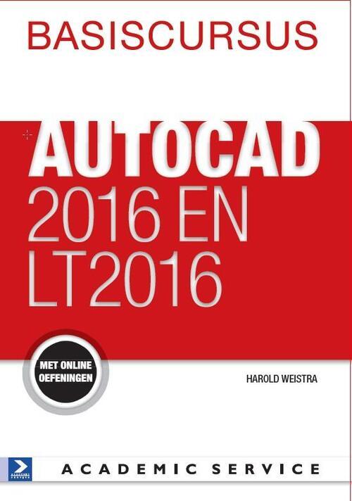 Afbeelding van Basiscursus AutoCAD 2016 en LT 2016