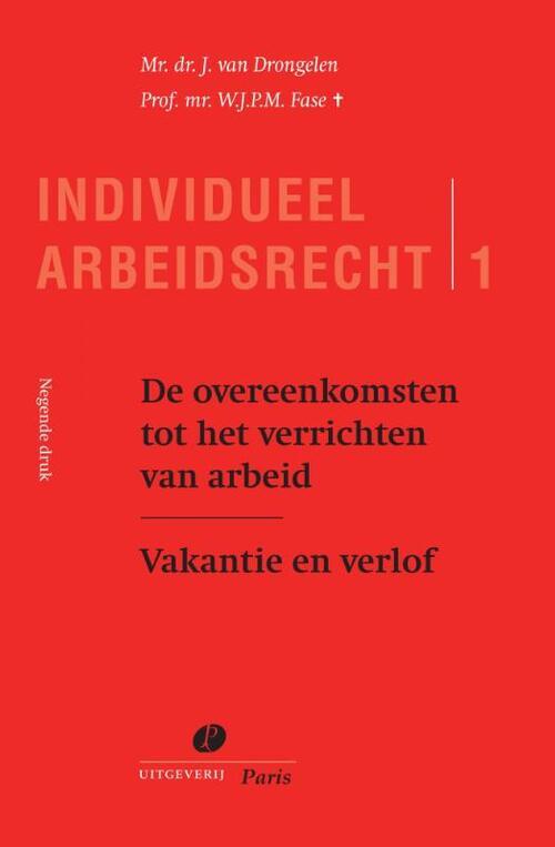 Dit boek is het eerste deel van een drieluik, waarin alle facetten van de individuele arbeidsverhouding ...