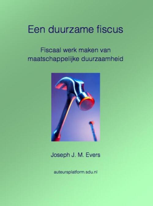 Afbeelding van Een duurzame fiscus