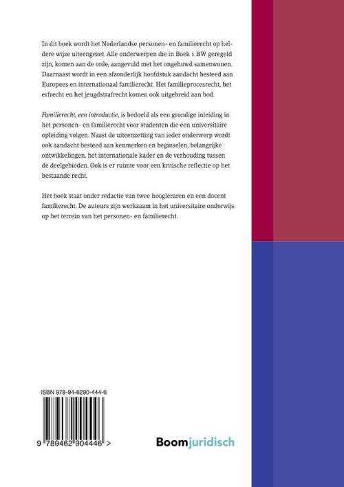 familierecht, w.m. schrama | 9789462904446 | boek - bookspot.nl