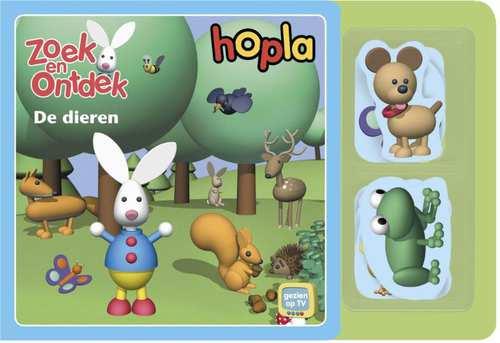 Afbeelding van Hopla Zoek en ontdek: De dieren