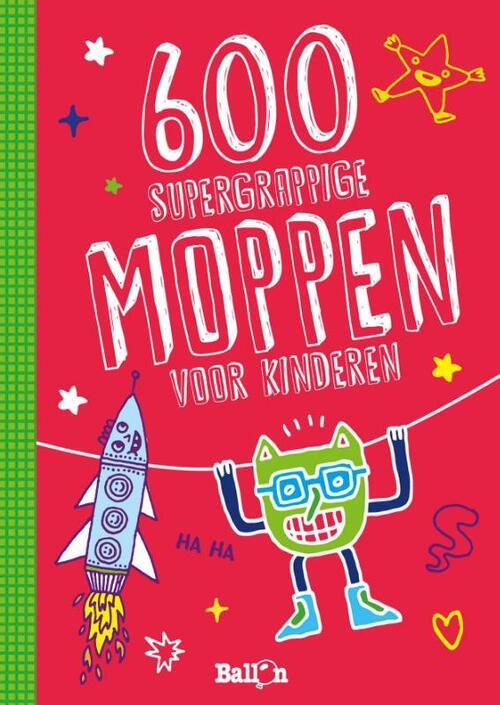Afbeelding van 600 Supergrappige Moppen Voor Kinderen