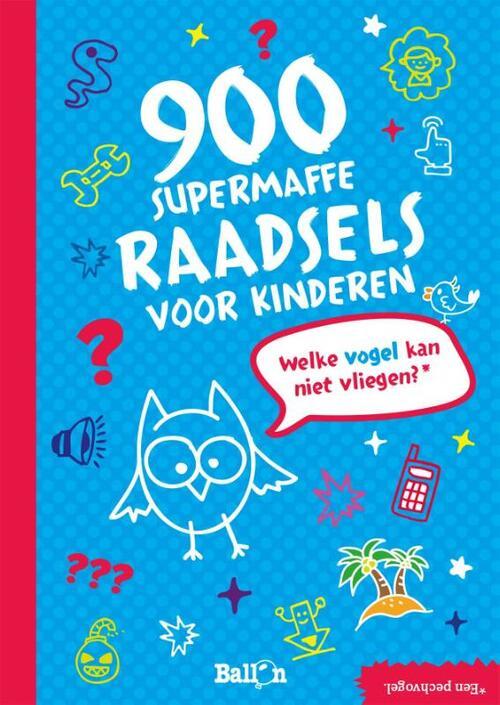 Afbeelding van 900 Supermaffe Raadsels Voor Kinderen