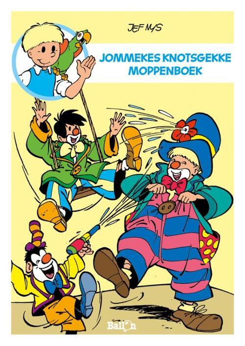 Afbeelding van Jommekes knotsgekke moppenboek