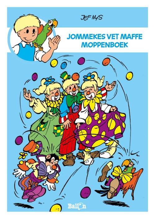 Afbeelding van Jommekes vet maffe moppenboek
