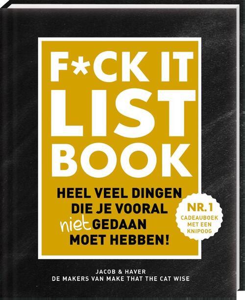 Afbeelding van F*CK-it list