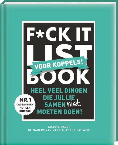 Afbeelding van F*ck-it list book voor koppels