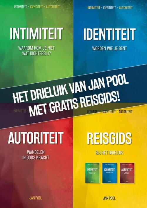 Afbeelding van Drieluik-pakket van Jan Pool met gratis Reisgids!