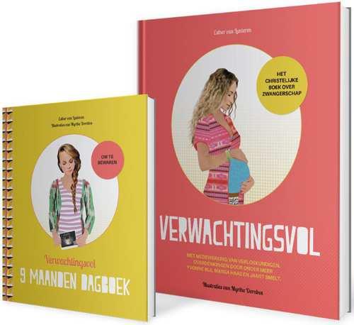 Sestra Boeken > Body & mind > Alle body & mind Pakket verwachtingsvol + negenmaandendagboek