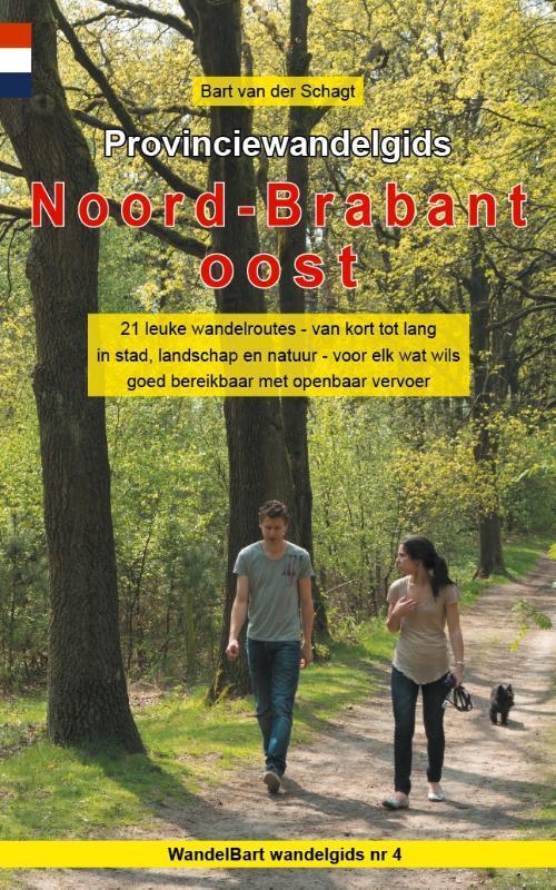 Afbeelding van Provinciewandelgids Noord-Brabant oost
